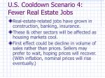 u s cooldown scenario 4 fewer real estate jobs