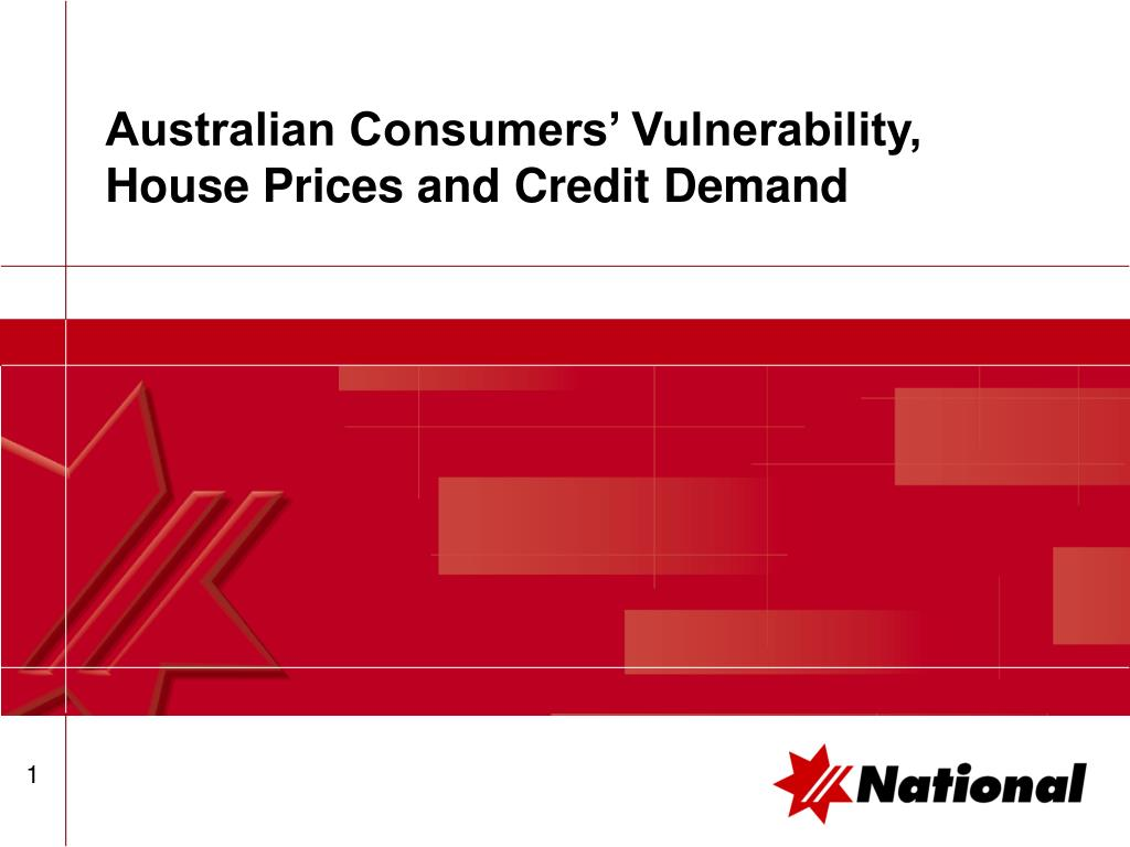 australian consumers vulnerability house prices and credit demand l.