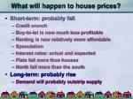 what will happen to house prices30