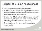 impact of btl on house prices7