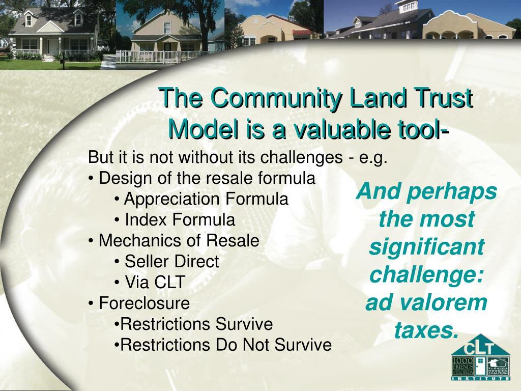 The Community Land Trust