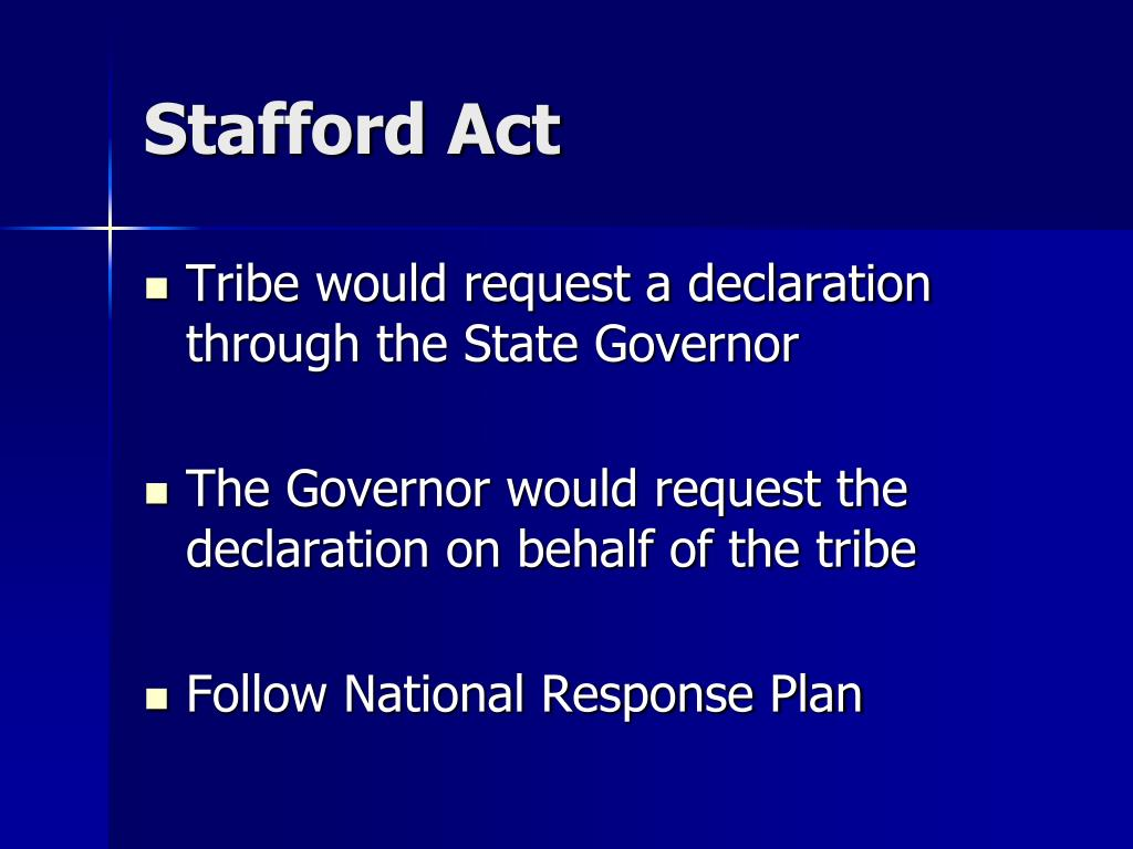 Stafford Act