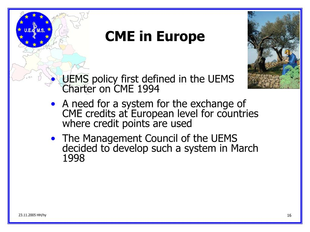 CME in Europe