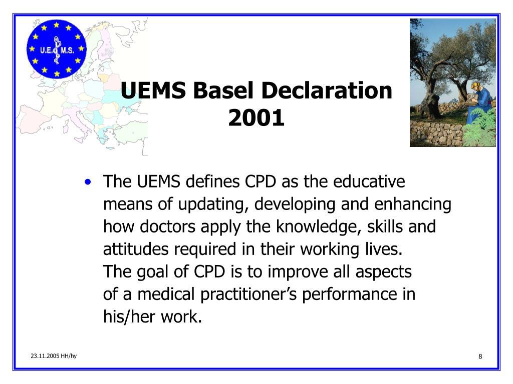 UEMS Basel Declaration