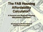 the fab housing affordability calculator