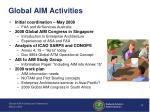 global aim activities