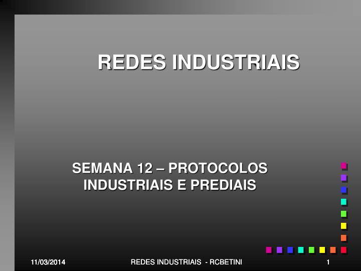 redes industriais n.