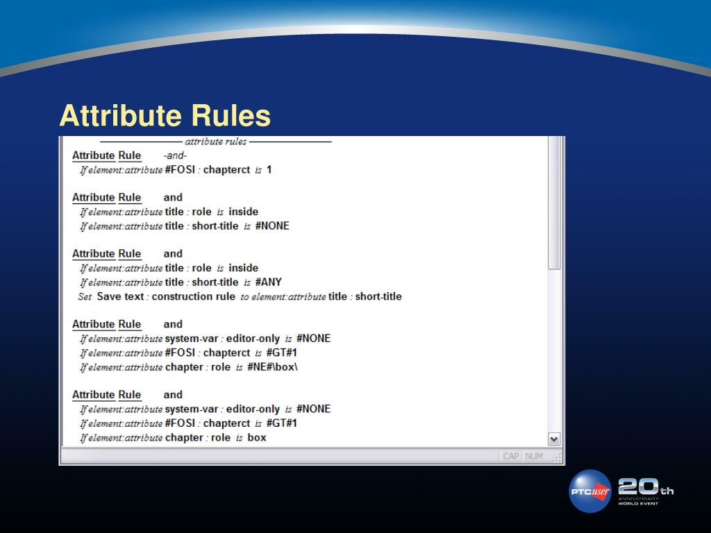 Attribute Rules