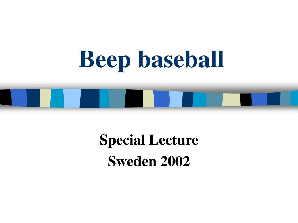 beep baseball l.