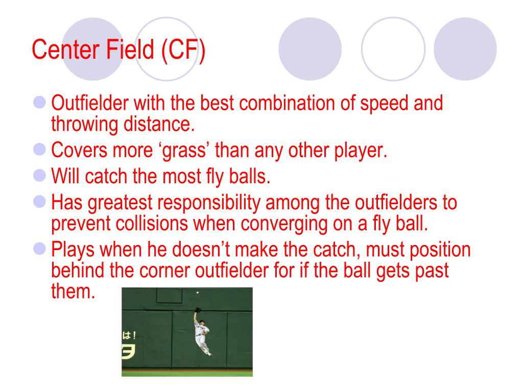 Center Field (CF)