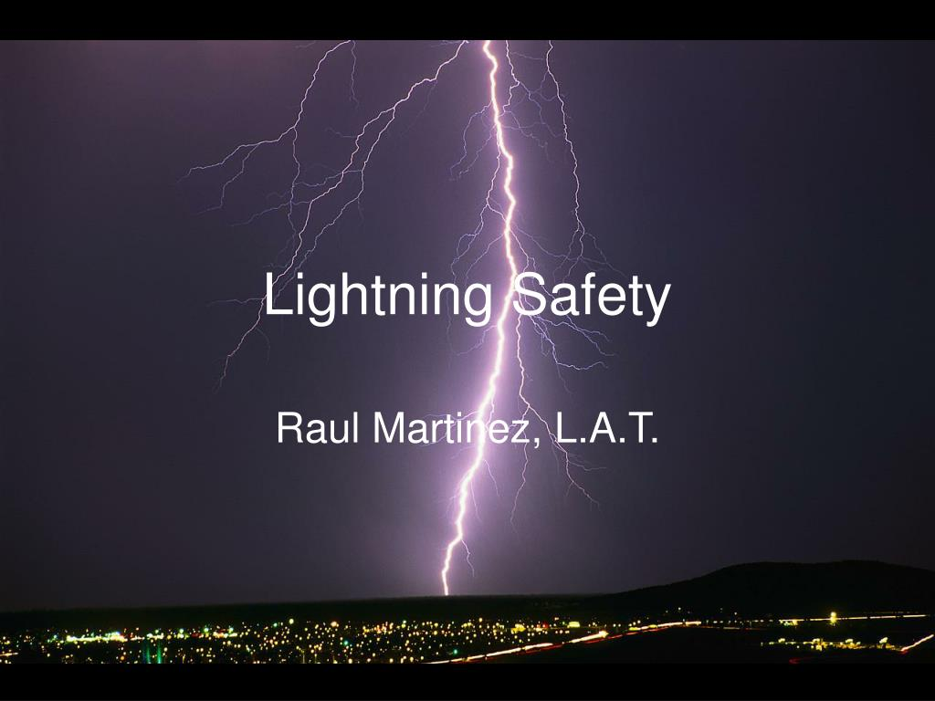 lightning safety l.