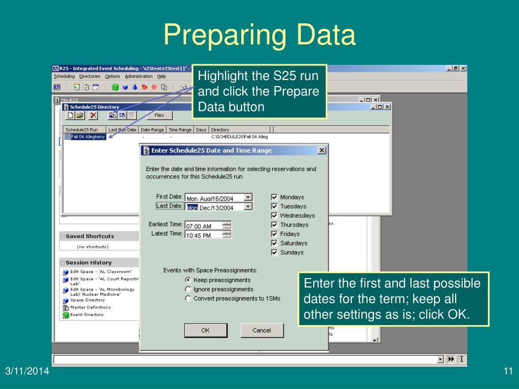 Preparing Data