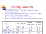 scaling laws 2