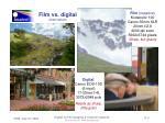 film vs digital observations