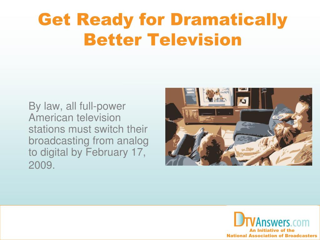 Get Ready for Dramatically Better Television