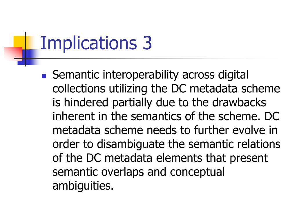 Implications 3