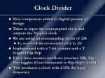 clock divider