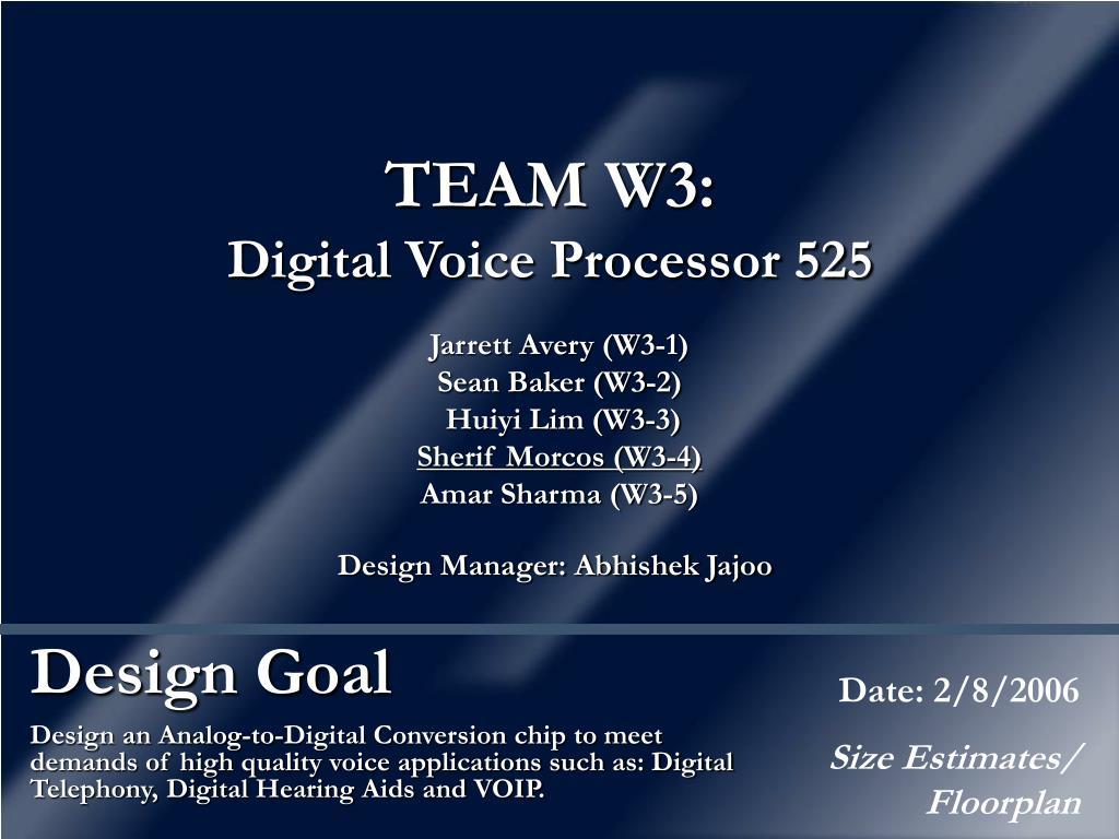 design goal l.