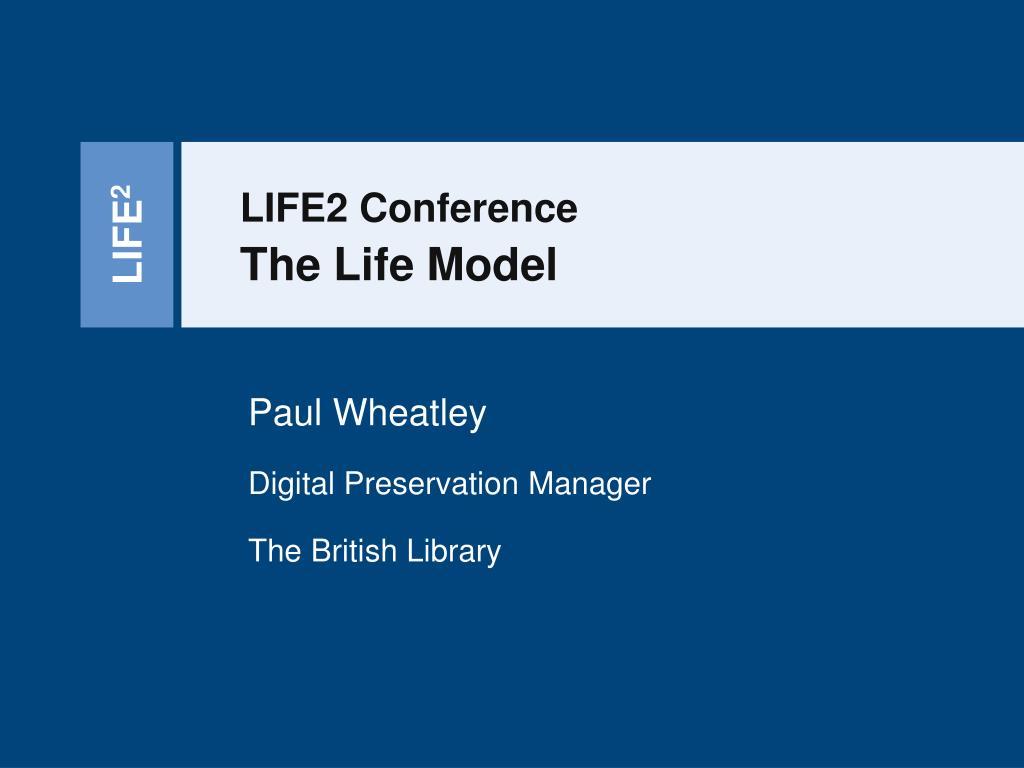 the life model l.