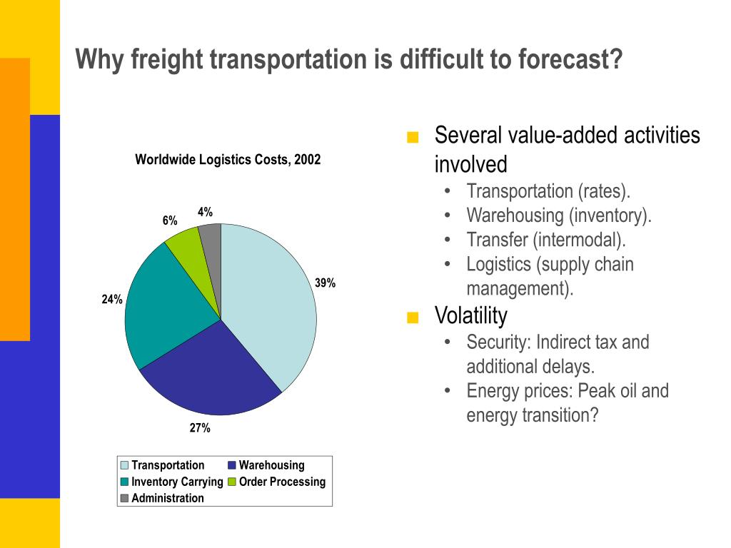 Why freight transportation is difficult to forecast?