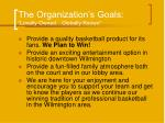 the organization s goals locally owned globally known