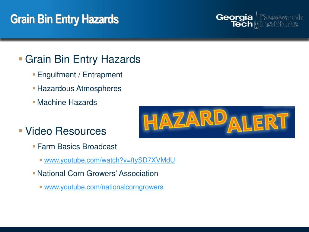 PPT - Safe Grain Bin Entry PowerPoint Presentation - ID:284162