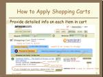 how to apply shopping carts8