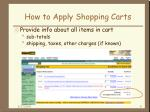 how to apply shopping carts9