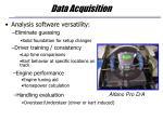 data acquisition18