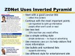 zdnet uses inverted pyramid21