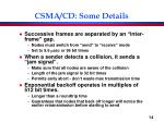 csma cd some details