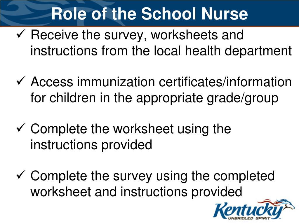 Role of the School Nurse
