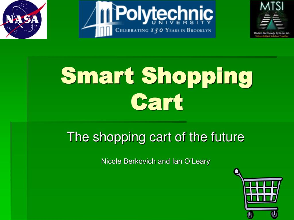 smart shopping cart