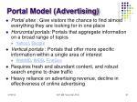 portal model advertising