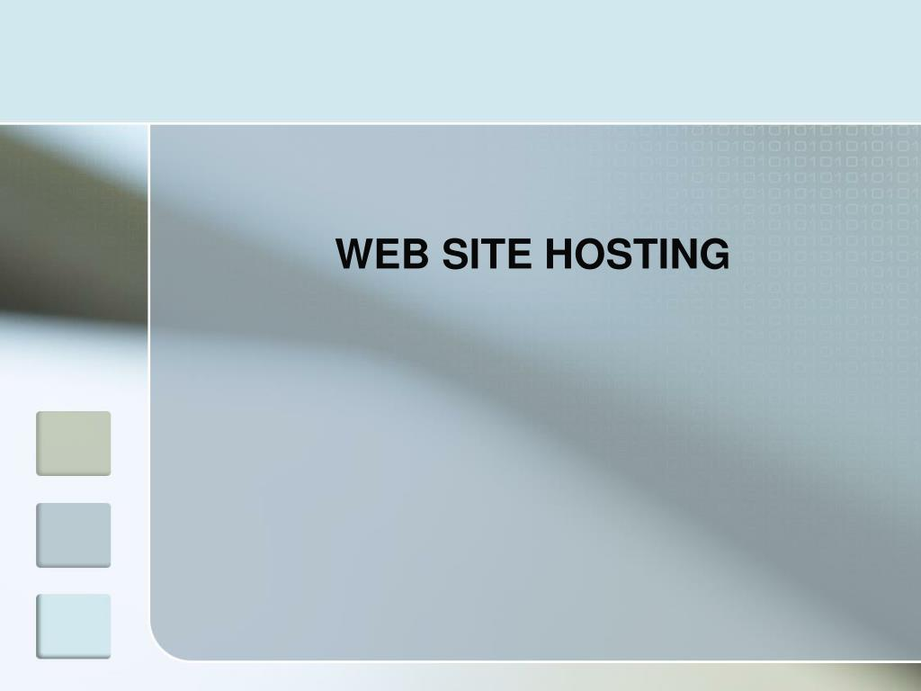 WEB SITE HOSTING