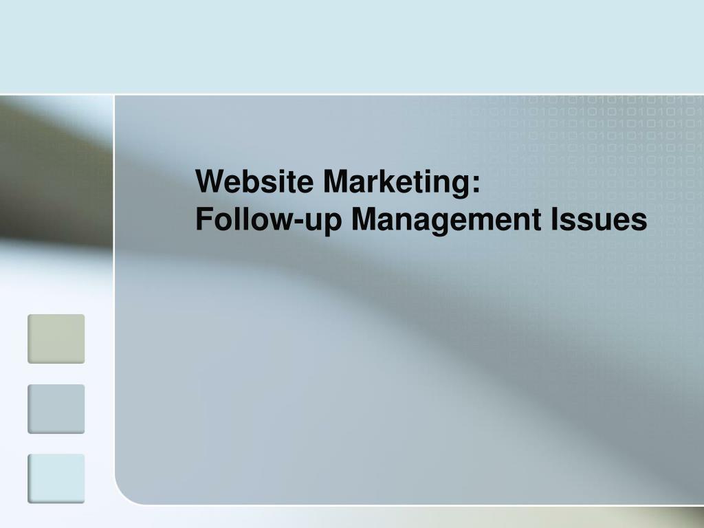 Website Marketing:
