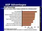 asp advantages