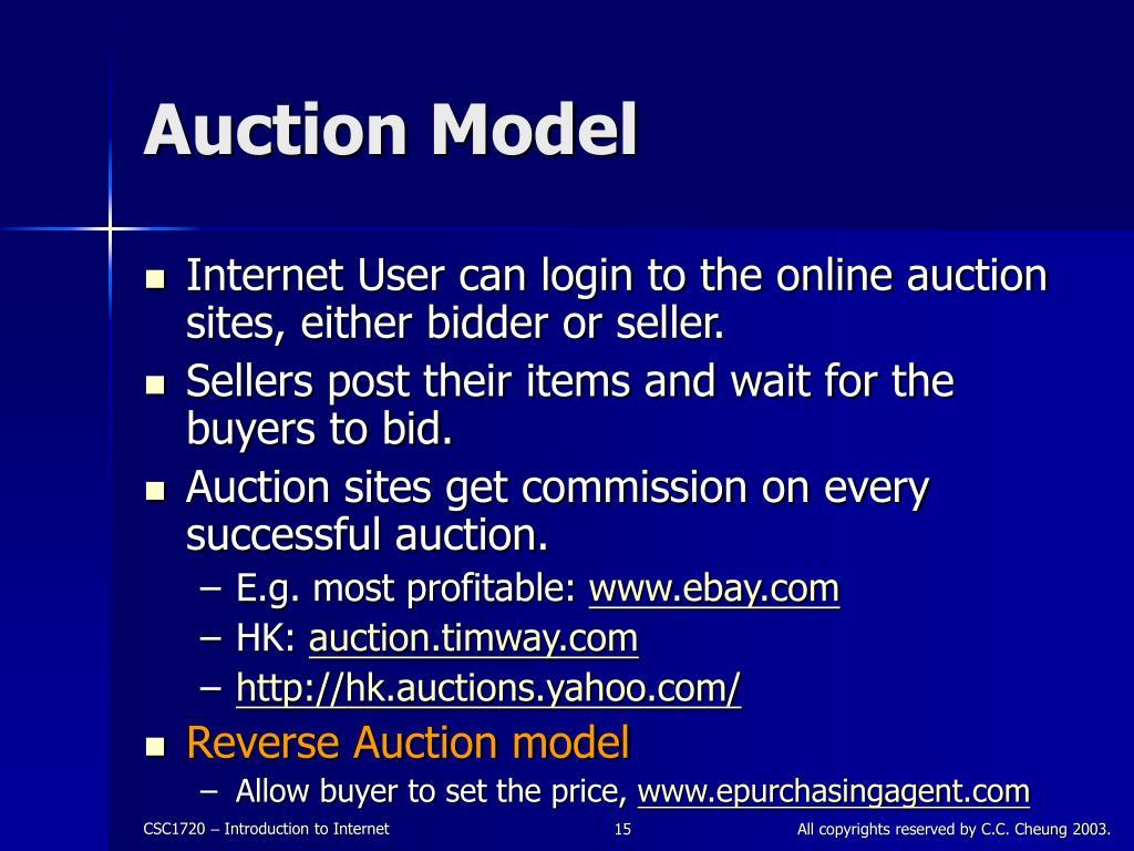 Auction Model