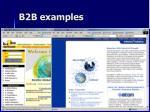 b2b examples