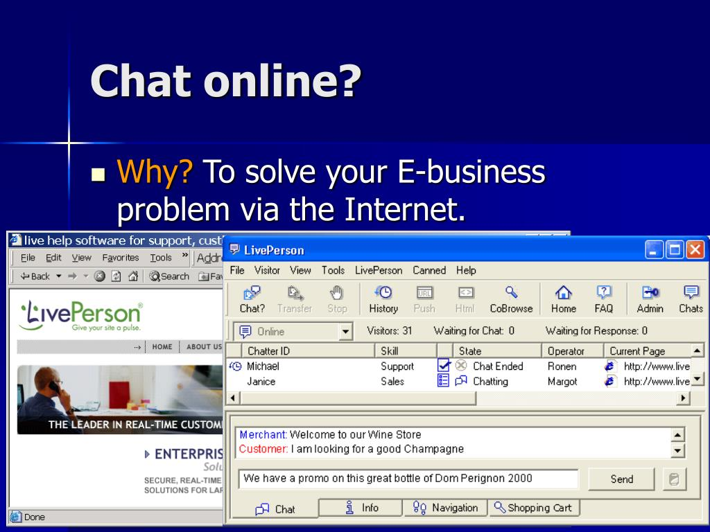Chat online?