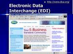 electronic data interchange edi41