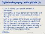 digital radiography initial pitfalls 1