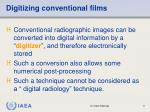 digitizing conventional films