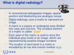 what is digital radiology