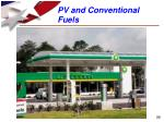 pv and conventional fuels