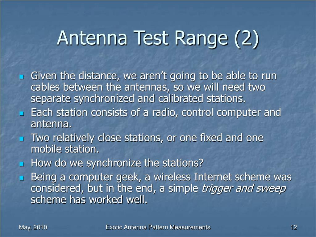 Antenna Test Range (2)