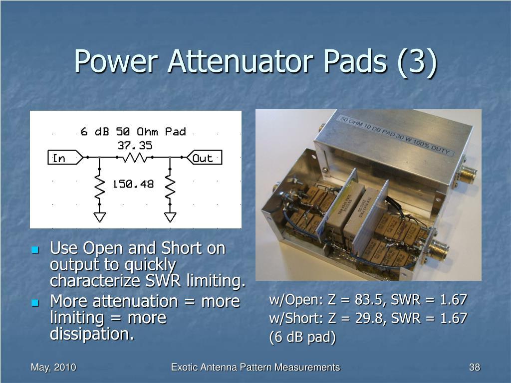 Power Attenuator Pads (3)