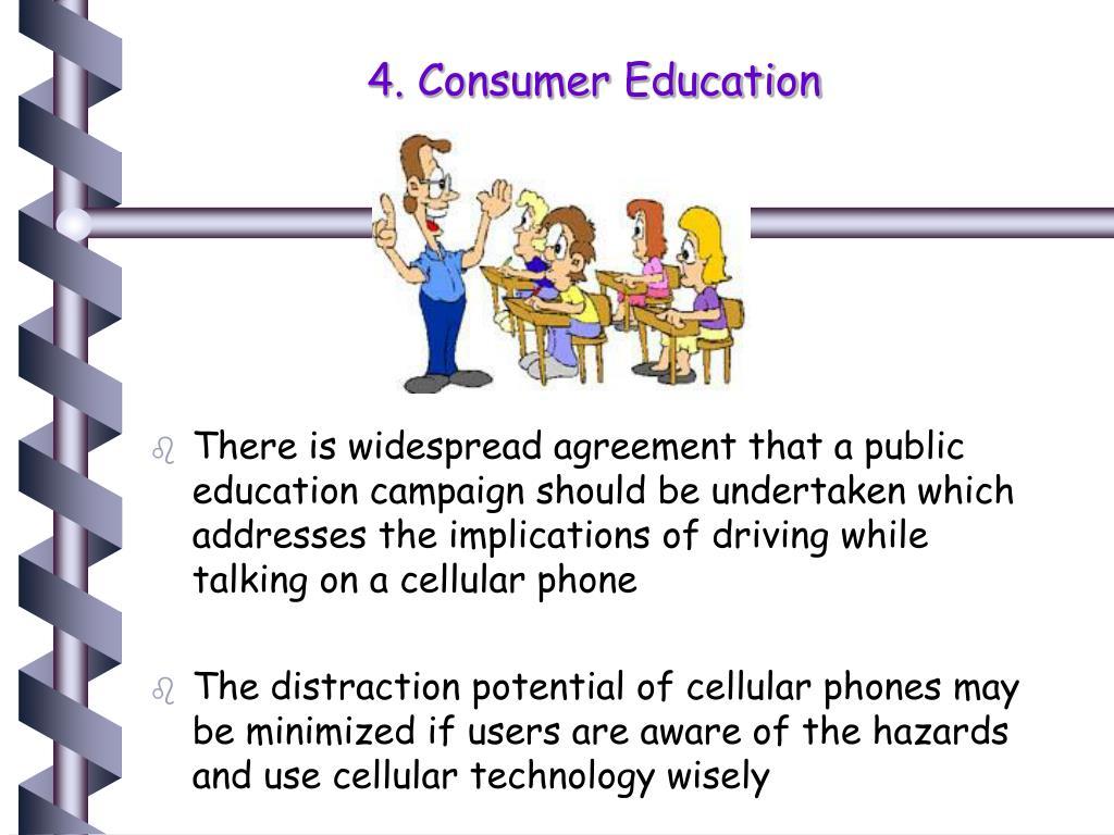 4. Consumer Education