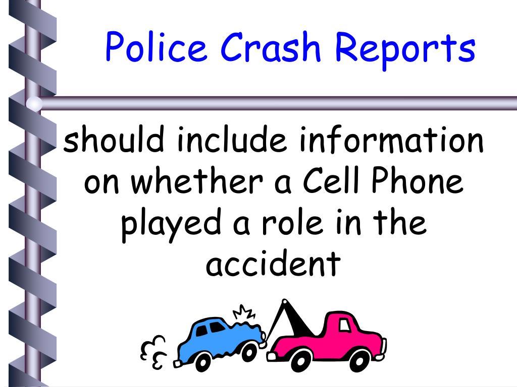 Police Crash Reports