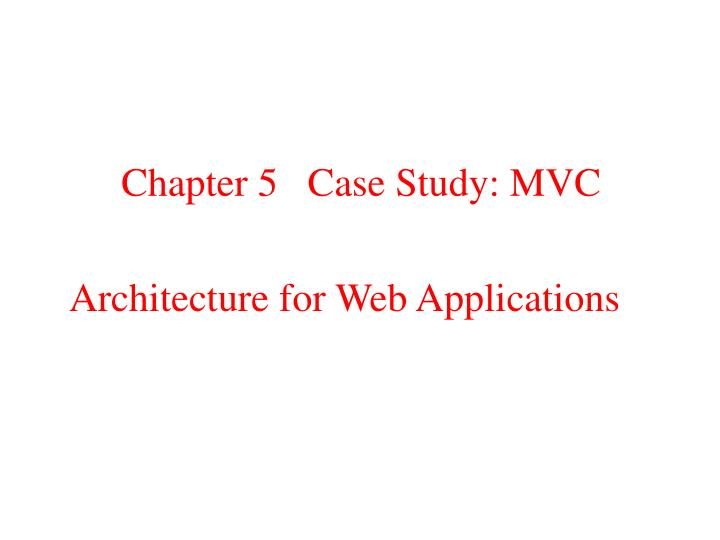 chapter 5 case study stop wait Chapter 1 modeling patient flows through the healthcare system randolph hall, david belson, pavan murali and maged dessouky epstein department of industrial and systems engineering, 200 ger.